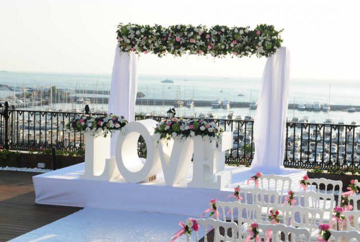 Hayalinizdeki Düğün Mekanı Kalamış Wyndham Grand Istanbul Hotel'de Gerçeğe Dönüşüyor