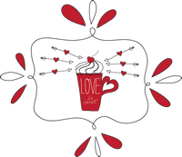 Valentines Doodle_love is sweet cup