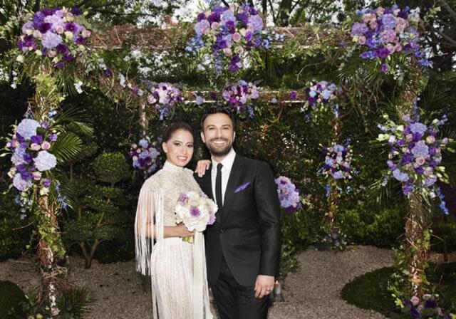 Tarkan'ın eşi Pınar Dilek, Tarkan'ın Tarabya'daki villasında düzenlenen nikah töreninde giydiği gelinliğini Nişantaşı Gizia GATE mağazasından seçti.