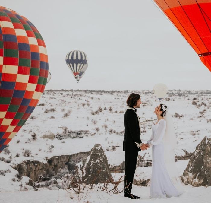 İstanbul'da kış düğünü